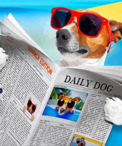 dog-reading-newspaper-paint-by-number