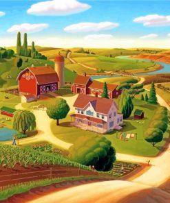 farm-landscape-paint-by-number