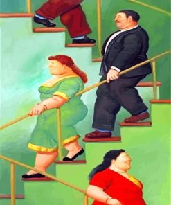 fat-people-botero-la-escalera-paint-by-numbers