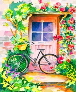 floral-door-paint-by-number