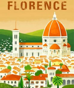 Florence Italy Europe paint by numbers