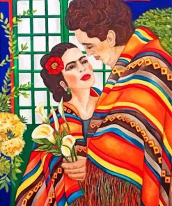frida-and-her-husband-paint-by-number
