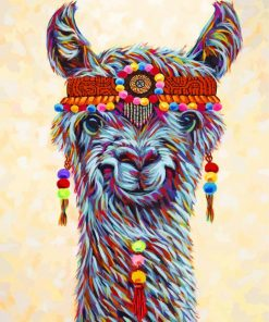 hippie-lama-paint-by-number