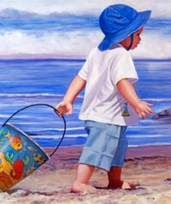 little-boy-on-the-beach-paint-by-numbers