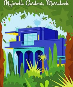 majorel-garden-morocco-paint-by-numbers