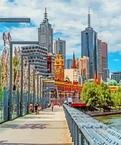 melbourne-city-paint-by-number