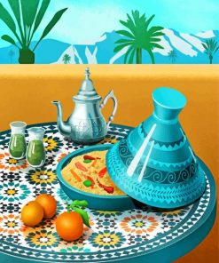 moroccan-tajine-and-min-tea-paint-by-number