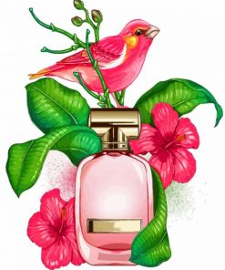 pink-bird-and-perfume-paint-by-numbers