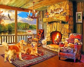 puppy-family-paint-by-number