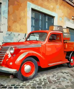 red-truck-paint-by-numbers