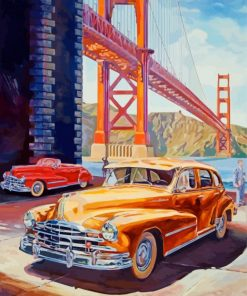 retro-cars-golden-gate-paint-by-numbers