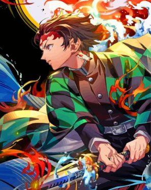 tanjiro-demon-slayer-manga-anime-paint-by-number