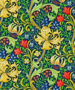 William Morris Golden Lily Paint by numbers