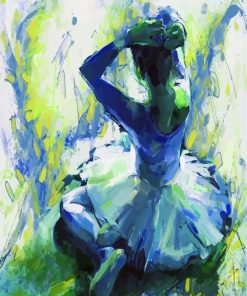 Ballet Girl Art Pain by numbers