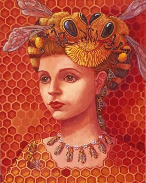 Bee Woman Paint by numbers