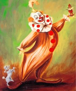 Circus Clown Paint by numbers