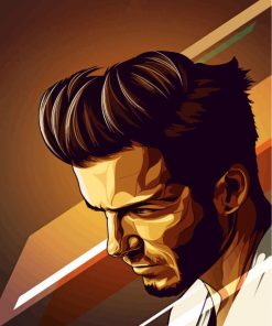 David Beckham Paint by numbers