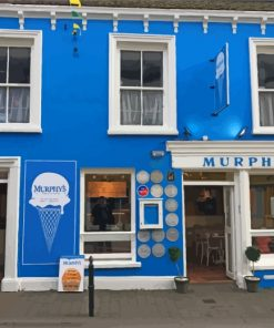 Dingle-town-Murphy's-ice-cream-store-paint-by-numbers