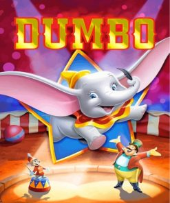 Dumbo Paint by numbers