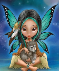 Fantasy Fairy Paint by numbers