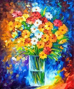 Flowers Vase Art Paint by numbers