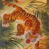 Japanese Tiger paint by numbers