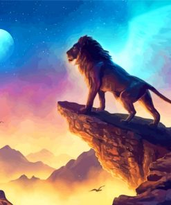 Lion King Paint by numbers