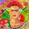 Mexican Frida Art Paint by numbers