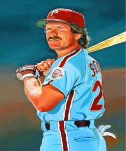Mike Schmidt Paint by numbers