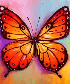 Monarch Butterfly Paint by numbers