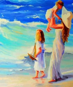 Mother And Daughters Paint by numbers
