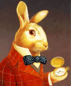 Mr Rabbit Paint by numbers