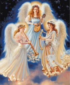 Musicians Angels Paint by numbers