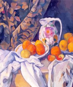 Paul Cezanne Still Life Paint by numbers
