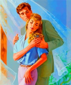 Romantic Couple Paint by numbers