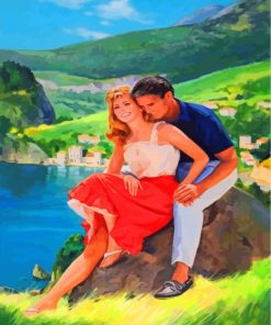 Romantic Lovers Paint by numbers
