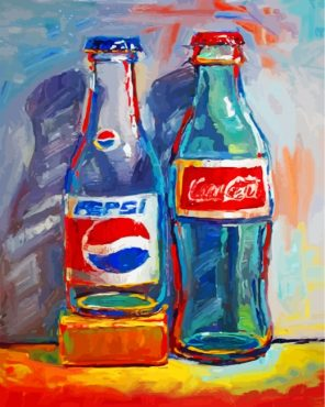 Soda-bottles-paint-by-numbers