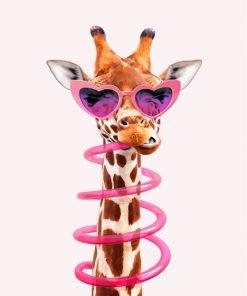 Stylish Giraffe Paint by numbers