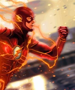 The Flash Paint by numbers