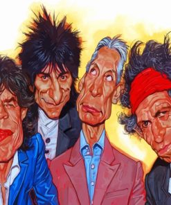 The Rolling Stones Paint by numbers