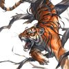 Tiger Artwork Paint by numbers