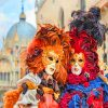 Venice Carnival Paint by numbers
