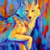 Wolf Art Paint by numbers