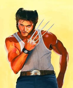 Wolverine Marvel Paint by numbers