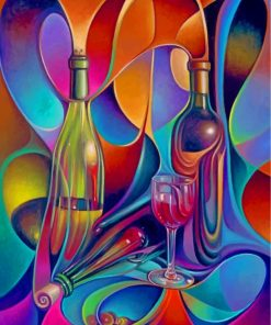 abstract-bottles-paint-by-numbers