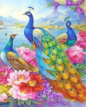 aesthetic-peacocks-paint-by-numbers
