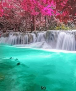 aesthetic-waterfall-paint-by-numbers