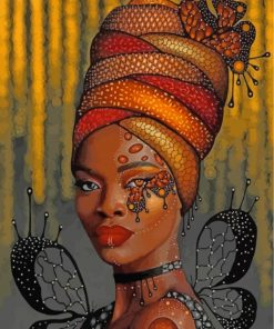 african-black-woman-paint-by-numbers