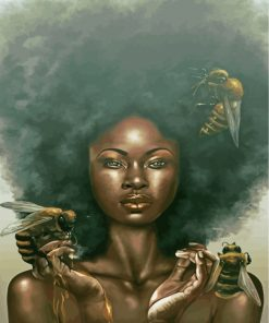 afro-lady-paint-by-numbers