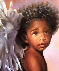 angel-black-boy-paint-by-numbers
